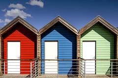 Blyth Beach Huts, Northumberland (DM Allan) Tags: summer seaside northumberland beachhut seafront blyth