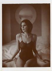 Delicate XIII (__Daniele__) Tags: mamiya film monochrome sepia polaroid paul universal analogue edition giambarba
