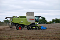 Day 251-365 (mpw1421) Tags: blue red green landscapes nikon farm farming harvest 365 borage essex day251 d60 combineharvester claas unlimitedphotos day251365 365the2015edition 3652015 8sep15
