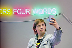Four Words for a Selfie (Ktoine) Tags: museum self ego candid selfish selfie egocentrism mamm