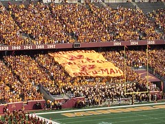 Gopher Football Win Over Ohio University (KNUJMediactive) Tags: gfb