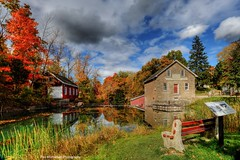 morningstar mill and decew waterfalls (Rex Montalban Photography) Tags: autumn fall decew morningstarmill rexmontalbanphotography