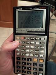 CASIO fx7000g (Pip) Tags: casio calculator fx7000g
