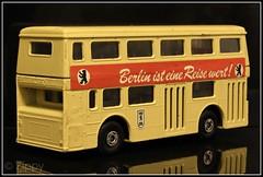 Matchbox K15 : Berlin Bus (Zippy's Revenge) Tags: bus berlin toy matchbox superkings daimler fleetline crude londonbus westgermany diecast dms londoner k15 whizzwheels glc123l
