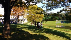 Keio University, Shonan-Fujisawa campus (tripu) Tags: autumn sky building tree nature beautiful grass japan campus october university anniversary w3c 25th kanagawa sfc fujisawa keio shonandai 2015 keiouniversity shonanfujisawacampus keiodaigaku
