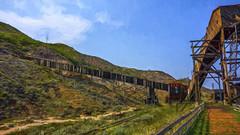 Atlas Coal Mine (LesleyON) Tags: canada composite mine alberta atlas coal topaz topazimpression