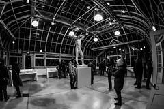 Nuit Blanche 2015 - Exhibit 2 - Sphinx (Jay:Dee) Tags: urban bw white toronto black art gardens allan blanche nuit 2015