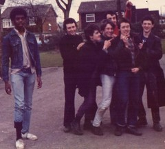 Parklife 80 / 81. (huddsfilm1) Tags: life street monkey punk boots distorted ska 80s levi 70s crombie docs skinhead drmartens harrington youths subculture dms affro teenages oldphotopicture