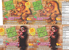 1995 Shasta Soda Creepy Coolers Monster Labels Suncoast VHS Rebate (gregg_koenig) Tags: monster werewolf cherry video vampire harry twist dracula creepy shasta labels soda 1995 punch transylvania 1990s wolfman 90s vhs howlin rebate suncoast coolers