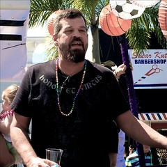 Honor and virtue (LarryJay99 ) Tags: street gay shirtless people urban man male men guy face sunglasses beard goatee glasses beads arms florida candid profile smiles handsome guys dude belly jeans attractive facialhair bluejeans dudes blackmale photostream scruff stubble spacemen baldhead 501s lakeworth hairyarms iphone6 peekingpits ilobsterit iphone6plusbackcamera415mmf22