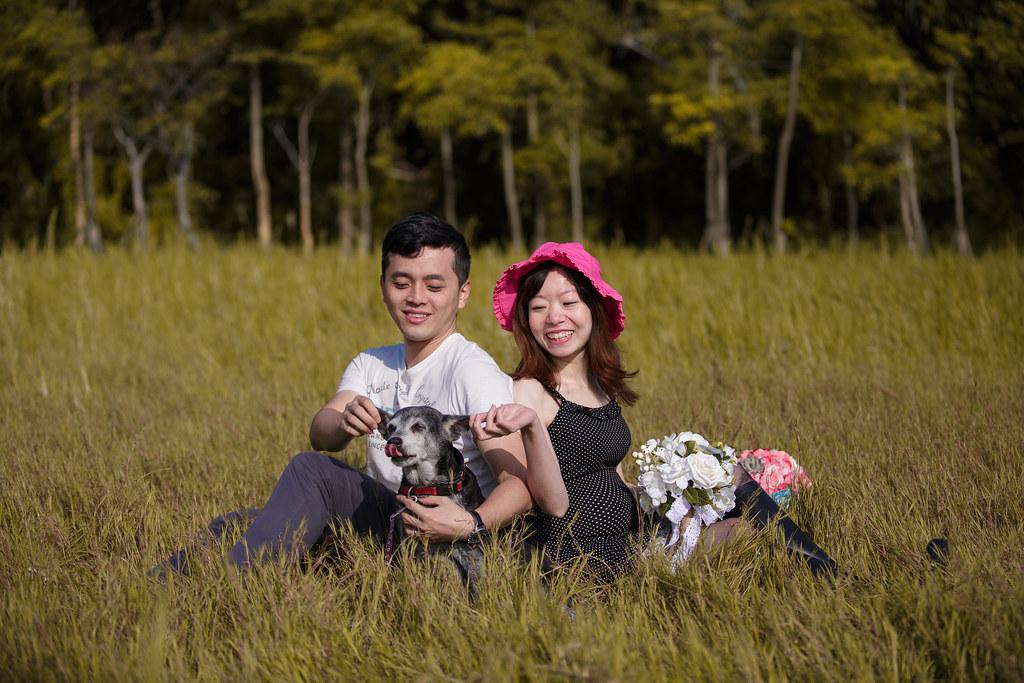 孕婦寫真,孕婦攝影,樹林孕婦,芒草孕婦,草原孕婦,Ajax&Far060