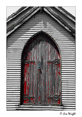 Old church door (Right On Photography) Tags: old church weathered catho catherinehillbay
