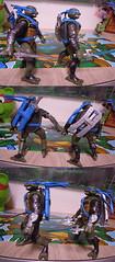 """Nickelodeon """"HISTORY OF TEENAGE MUTANT NINJA TURTLES"""" FEATURING LEONARDO -  'TMNT : FAST FORWARD'  LEONARDO iv (( 2015 )) (tOkKa) Tags: 2005 toys comic 1988 2006 1993 1992 leonardo figures toysrus 2012 2007 teenagemutantninjaturtles tmnt nickelodeon 2014 2015 displaystand playmatestoys ninjaturtlesthenextmutation toysrusexclusive tmntfastforward toontmnt tmntmovie4 turtlemilkstudios eastmanandlairdsteenagemutantninjaturtles moviestartmnt varnerstudios toonleo paramountteenagemutantninjaturtles 4kidstmnt paramountsteenagemutantninjaturtles tmnt2003 historyofteenagemutantninjaturtlesfeaturingleonardo davearshawsky tmnt2014movie"""