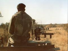 Security Forces - Show of strength during the dissident era (Andrew Wilson 70) Tags: school zimbabwe schools plumtree boardingschool schoolboys botswanaborder plumtreeschool