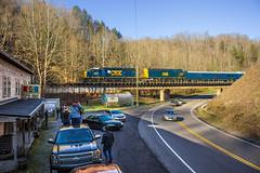 02-Clinchco (chipallen16) Tags: santa train virginia natural kentucky dante tunnel trains santatrain csx coppercreek crr clinchfield poolpoint