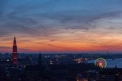 Antwerp (Antti Tassberg) Tags: city travel winter urban cloud night dark mas lowlight cityscape nightscape belgium antwerp talvi antwerpen yö vlaanderen pilvi kaupunki belgia