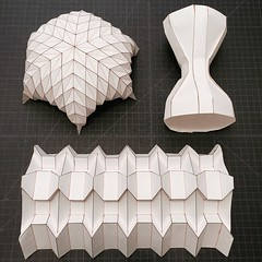 (mike.tanis) Tags: art architecture paper design origami dome span folding pleats
