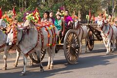 Bagan - Novication Ceremony (Rolandito.) Tags: asia burma south ceremony monk east monks myanmar procession southeast birma pagan bagan novice birmanie novices birmania novication bagsn
