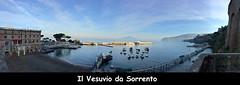 Sorrento - Marina Piccola (Roby_BG) Tags: blue sea sky boats volcano mare harbour blu barche porto cielo vesuvio vulcano