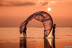 The sun catchers (Anneke Jager) Tags: annekejager zonsondergang zon sunset summer beach strand sfeer mood moody sonnenuntergang sonne sommer canon