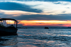 | SILHOUETTE - Bangladesh | (mdanwarhossain) Tags: silhouette sunset river bangladesh boat sky clouds landscape evening padma outdoor sea seaside shore vehicle water ocean