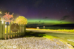 Aurora, The Three Chimneys, Isle of Skye (Andy Stables) Tags: aurora borealis northern lights colbost three chimneys restaurant glendale skye scotland canon 70d