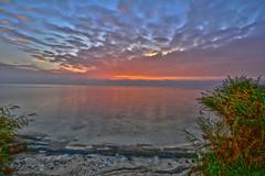 Markermeer (jeroenknol81) Tags: d5200 sigma water nikon nature natuur nederland netherlands volendam markermeer lake meer sunup sundown sun clouds wolken outdoor