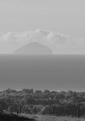 Ayrshire, Scotland. Ailsa Craig, Mono. (Phineas Redux) Tags: ayrshirescotland ailsacraigscotland firthofclydescotland ayrshire scotland