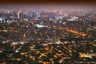 Midnight Aerial Istanbul