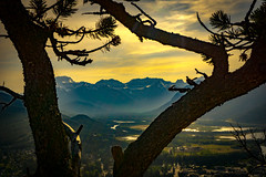 Tunnel Mountain Painting view (Shane Kiely) Tags: banff canada lakeminnewanka tunnelmountain vermillionlakes