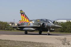 Dassault Mirage 2000D (Newdawn images) Tags: dassaultmirage dassault mirage 2000d 30jo frenchairforce military militaryjet jet jetfighter natotigermeet ntm zaragoza spain canoneos5dmarkii canonef70200mmf4lisusm