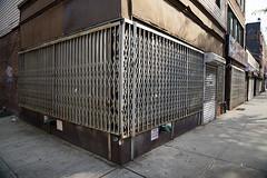 Security Corner, Greenpoint, Brookyn, 2016 (Jack Toolin) Tags: brooklyn jacktoolin newyorkcity cities urban urbanlandscape urbanspaces urbanstudies urbanphotography urbanwalls security storefronts stores