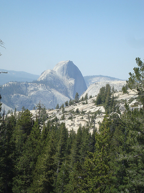 Day 3 - View of Half Dome, Olmsted Point