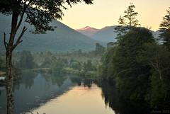 Atardecer / Dusk (Javiera C) Tags: paisaje landscape nature naturaleza río river agua water bosque forest penumbra atardecer dusk reflejo reflection color