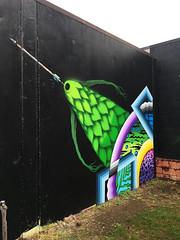 Indirect Fire by Klutch, Domintah & Rupeezy (wiredforlego) Tags: graffiti mural streetart urbanart portland oregon pdx klutch rupeezy dominatah