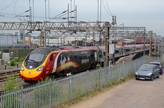 390107 aa Rugby 230616 D Wetherall (MrDeltic15) Tags: virgintrains pendolino class390 390107 independanceday wcml rugby