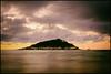 The Island (shlomo2000) Tags: atlantic ocean isle night sundowner beach sonnenuntergang lights ships bucht biskaya golfo fuji xt1 outside waves longexposure port clouds