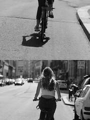 [La Mia Citt][Pedala] (Urca) Tags: milano italia 2016 bicicletta pedalare ciclista ritrattostradale portrait dittico nikondigitale mir biancoenero blackandwhite bn bw 8989