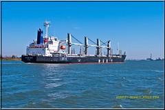 African Raven 1548 LR (bradleybennett) Tags: cargo vessel ship shipping delta water river ocean tanker antioch port stockton african raven africanraven
