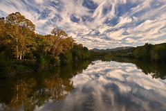 Evening light James River (Tim Ravenscroft) Tags: clouds reflections evening james river virginia usa