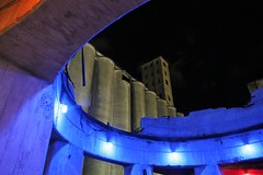 IMG_8028 (2) (Chris Podosek) Tags: riverworks buffalo grain silo abandon ruins lights river labatt blue chris podosek images concret