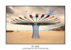 Sculptures by the Sea Bondi 2016 (sugarbellaleah) Tags: sculpturebythesea sculpture tamarama bondi beach oars sand sky australia exhibit annual event ocean sea scenic fun arts entertainment pretty colours vivid