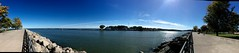 End of Genesee River (ronon44) Tags: geneseeriver lakeontario rochester panorama