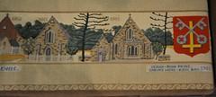 Kneeler, St Peter's Anglican Church, Glenelg, South Australia (contemplari1940) Tags: kneeler church glenelg stpeters anglican tapestry johnpayne kathbax