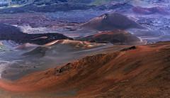 Haleakala caldera (marko.erman) Tags: haleakala maui hawaii usa unitedstates island archipel volcano caldera craters lava houseofsun sony colors red geology eruption landscape shieldvolcano