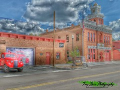 City of Victor (Tony Baca Photography) Tags: victor cityofvictor cityofmines cityhall volunteerfiredepartment colorado coloradophotographer coloradophotography hdrphotography hdr smalltown miningtown historicvictor