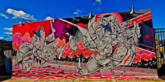 Mural. Coney Island.  HOW  . NOSM. (Allan Ludwig) Tags: coneyisland how nosm mural