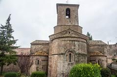 Santa Maria de l'Estany (Catalogne/Espagne) (PierreG_09) Tags: clocher église espagne catalogne spain españa espanya cataluña catalunya santamariadelestany monastère monestir lestany santamaria