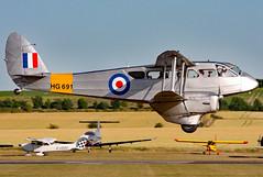 G-AIYR (GH@BHD) Tags: gaiyr hg691 dehavilland dh89 dh89a dragonrapide dragon rapide spectrumleisure flyinglegends2010 duxfordairfield duxford flyinglegends biplane vintage aircraft aviation