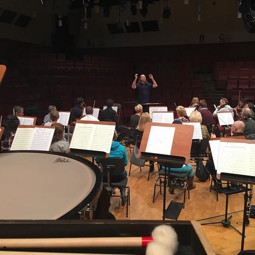 #Rehearsal for the #concert 2.12.2016 #DariuszMikulski #Conductor & #Soloist #FilharmoniaDolnoslaska #JeleniaGora #Hirschberg #NiederschlesischePhilharmonie #Mozart #LaClemenzaDiTito #HornConcert #Beethoven #Sinfonie No 5